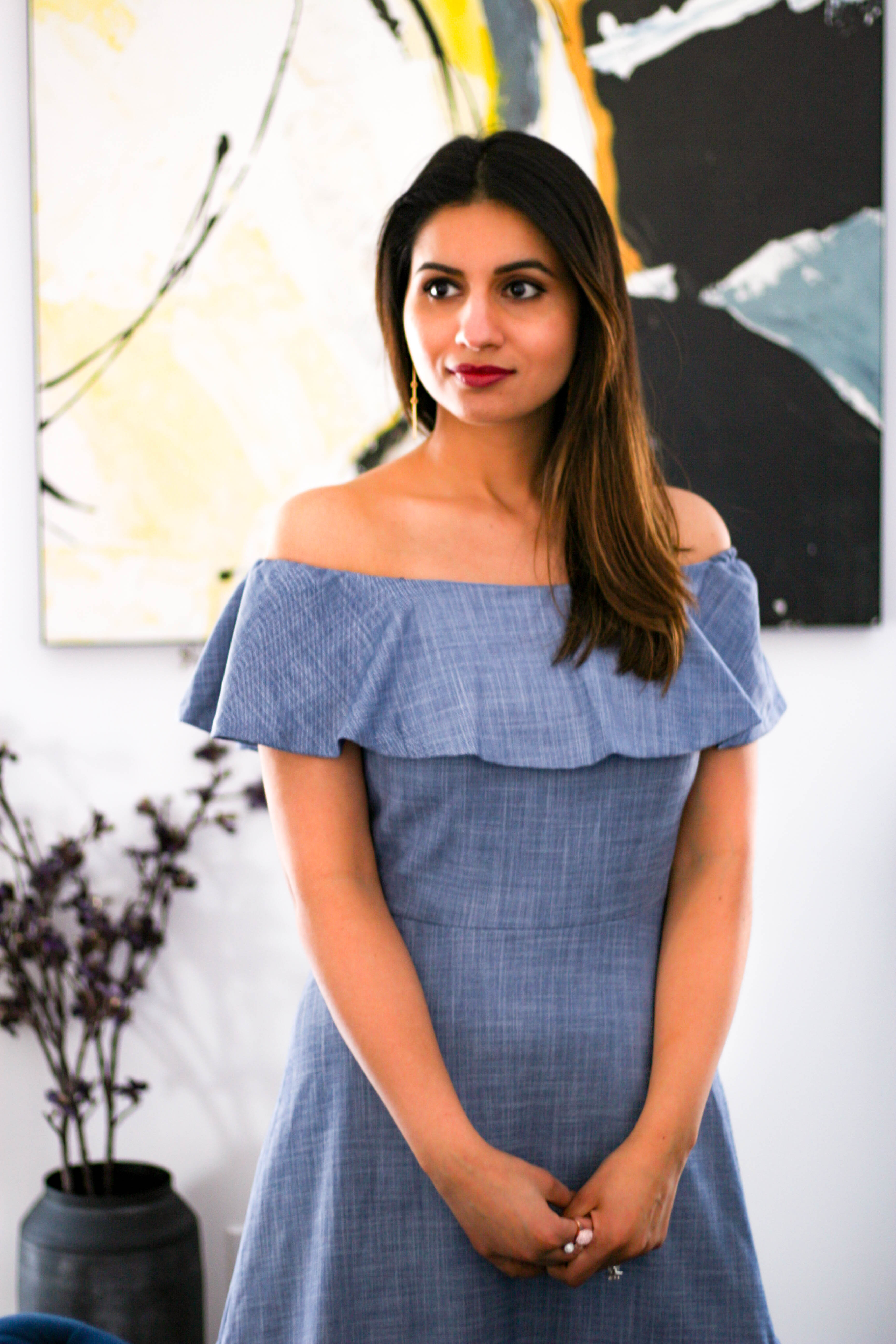 Spring Style: Chambray Dress