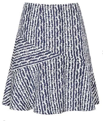 Textured Jacquard Skirt