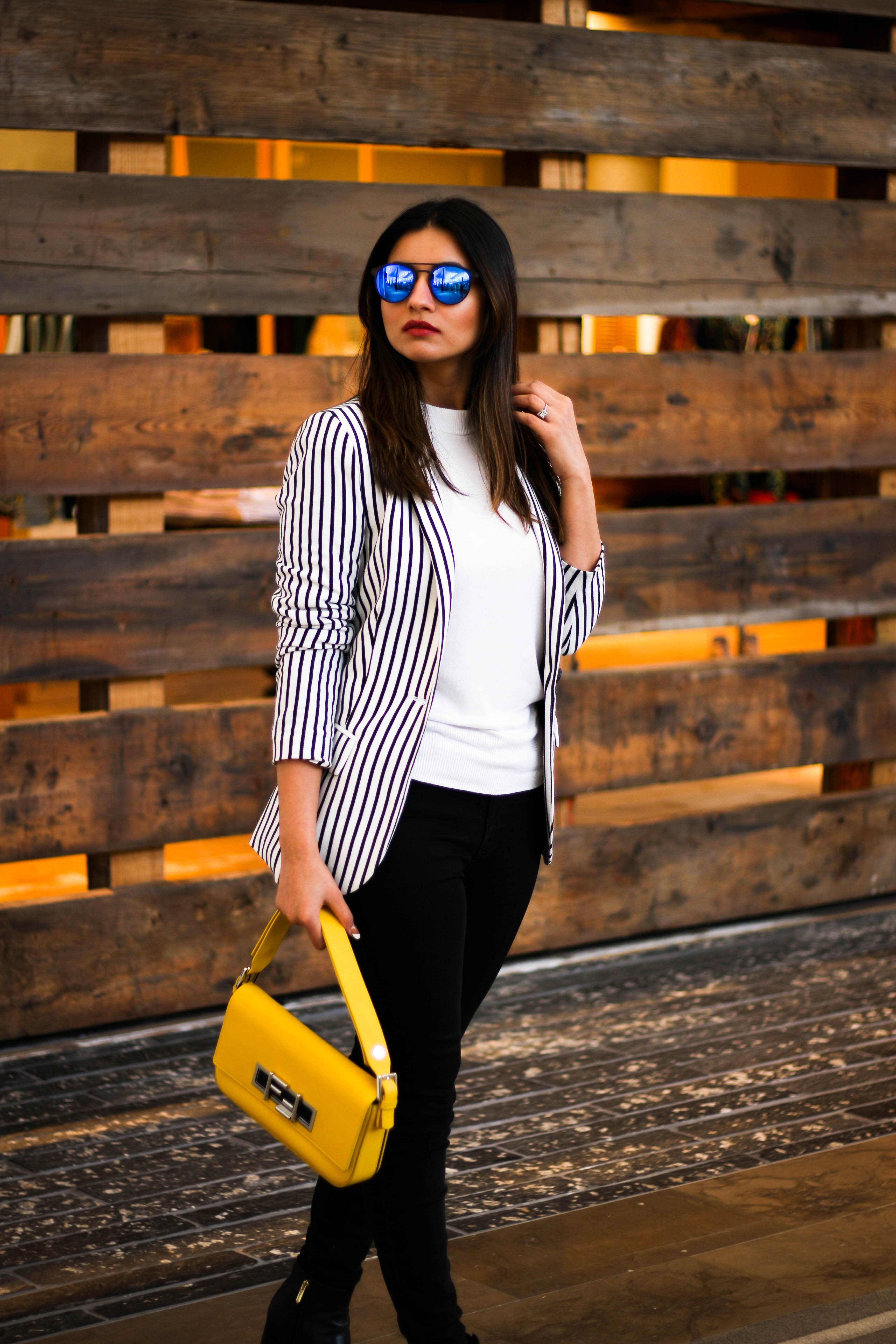 Outfit Post: Classic Stripes