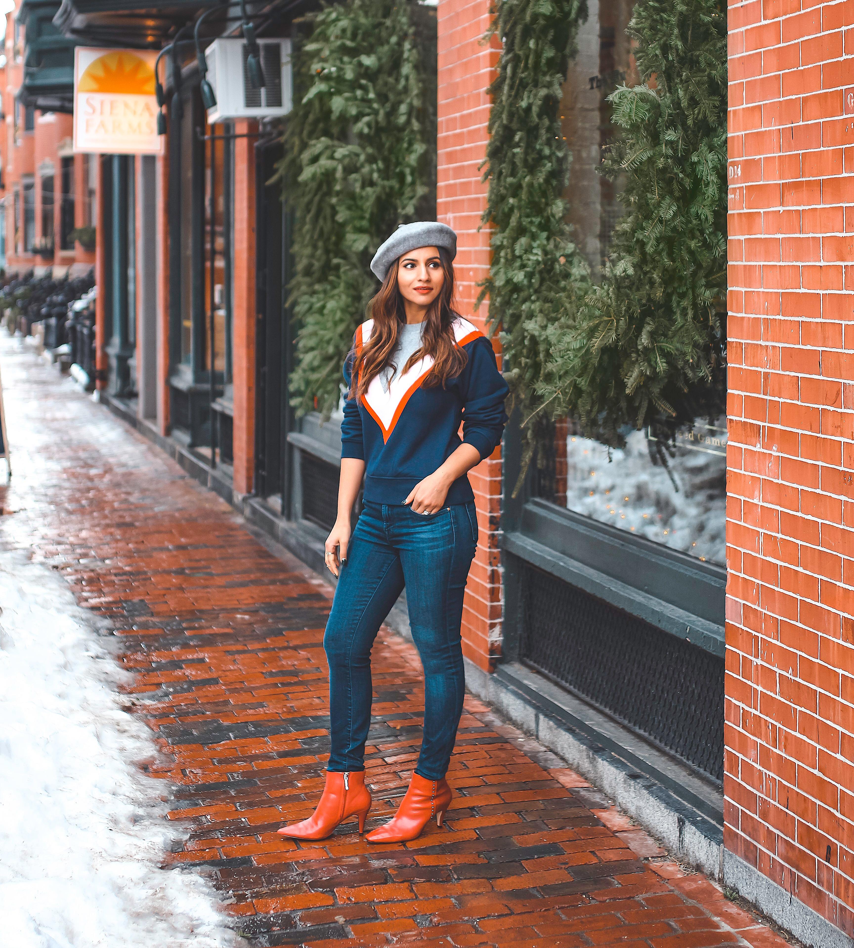Winter Style: Sweatshirts