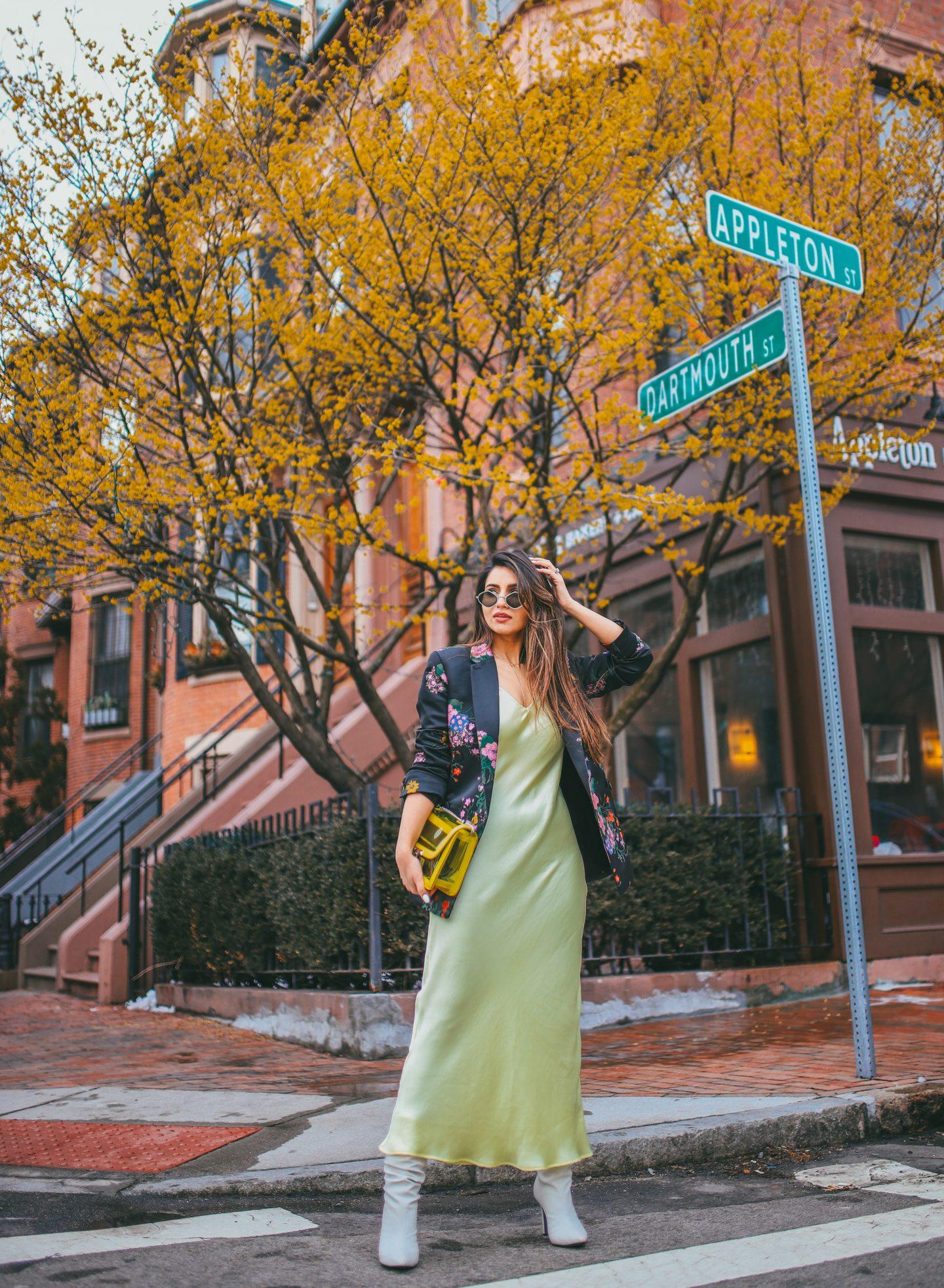 Spring Style: 90's Slip Dress